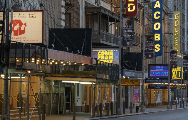 Broadway makes plans to slowly open up theatres in upcoming months