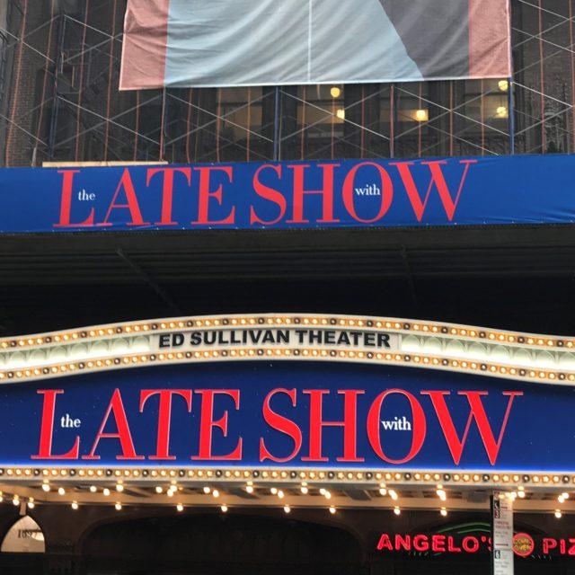 Ed Sullivan Theater Pic